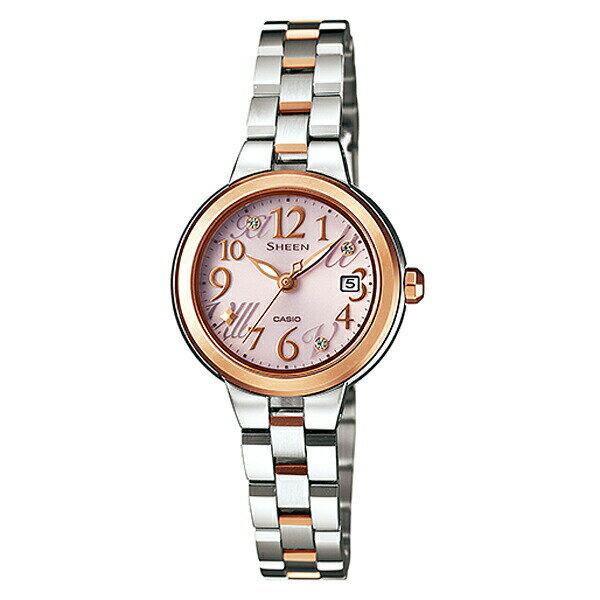 カシオ シーン 掛け時計 電波時計 SHE-4506SBS-4AJF ソーラー セイコー Star Index Series レディース腕時計【長期保証5年付】:時計のソフィアス 店 セール【20%OFF】 CASIO SHEEN 腕時計 国内正規品