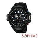 手錶 - カシオ Gショック GWN-1000B-1AJF 腕時計 GULFMASTER[ガルフマスター] ブラック 電波ソーラー 【長期保証10年付】