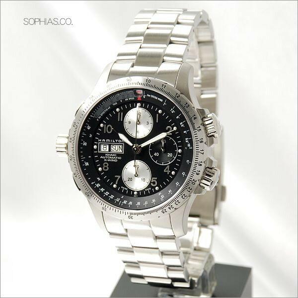 HAMILTON ハミルトン H77616133 腕時計 KHAKI AVIATION X-WINDO 自動巻 メンズ 【長期保証3年付】 人気のブランド HAMILTON 腕時計 【全国送料無料】