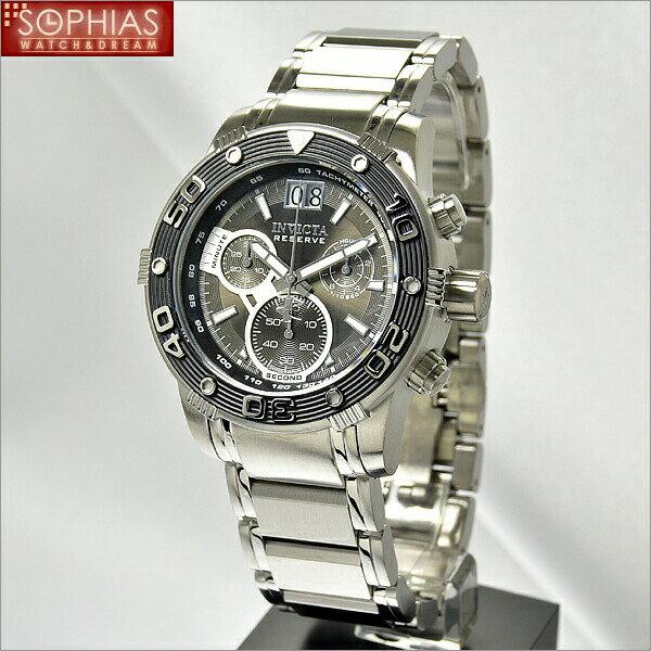 INVICTA インビクタ メンズ腕時計 10589 クロノグラフ ブラック 【長期保証3年付】 人気のブランド腕時計!ラッピング無料・有料で刻印を承ります