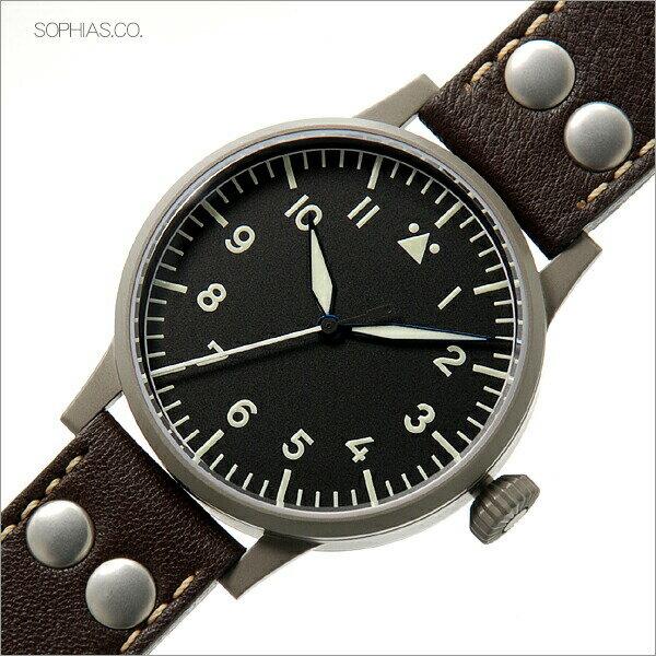 ラコ Laco 861748 腕時計 パイロット 24系自動巻シリーズ Munster ミュンスター メンズ正規輸入品 【長期保証5年付】 【長期保証付き】【送料無料】【正規輸入品】ドイツ名門腕時計!