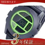 ニクソン NIXON A489027 バジャ BAJA デジタル メンズ 腕時計 ブラック×グリーン [ST] 【長期保証3年付】