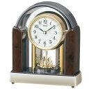 セイコー 電波置時計 BY238B 正時メロディー 回転飾りつき