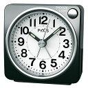 セイコー クロック クオーツ NR437K めざまし時計 (目覚まし時計) ピクシス スタンダード 黒メタリック 【記念品 贈答品 名入れ承ります】【熨斗印刷承ります】