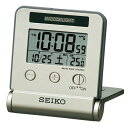 セイコー 電波 SQ772G デジタル めざまし時計 トラベラ自動点灯タイプ 温度表示つき