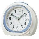 セイコー クオーツ KR890L めざまし時計 スタンダード ブルー