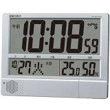 セイコー 電波 SQ434S デジタル時計 プログラム機能付き 大型 掛・置兼用