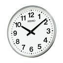 セイコー クオーツ掛時計 KH411S 業務用 オフィスタイプ 屋外・防雨用 大型