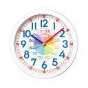 知育時計【SEIKO】セイコー クロック クオーツ 掛け時計 (掛時計) KX617W 【記念品 贈答品 名入れ承ります】【熨斗印刷承ります】