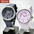 テンデンス TENDENCE ペアウォッチ TG730004&TG730002 Black&Pink ペア腕時計 [ET] 【楽天カード分割】
