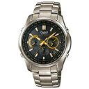 カシオ ウェーブセプター LIW-M610TDS-1A2JF 電波ソーラー腕時計 リニエージ ゴールド メンズ 【長期保証5年付】