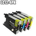 【セット】 LC12-4PK ×5 ブラザー brother LC12 互換インク LC12BK LC12C LC12M LC12Y DCP-J925N DCP-J725N DCP-J525N MFC-J955DN MFC-..