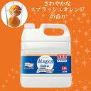 LION チャーミーマジカ(CHARMY Majica)スプラッシュオレンジの香り 4L 【ライオン/食器用洗剤/中性洗剤/業務用/ナノ洗浄】