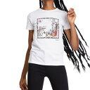 ショッピングオーガニック デシグアル Desigualtシャツ レディース 2020春夏 ホワイト M L クリスチャンラクロワ オーガニック