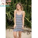 AGUA DOCE アグアドーセ ブラジリアン水着 オルテガ柄 ネイティブ柄 ワンピース ドレス ad-13445