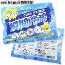 【cool ice pack瞬間冷却パック】景品 粗品 プチギフト 熱中症 保冷剤 アウトドア スポーツ