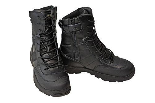 SWAT ミリタリーブーツ ジャングルブーツ タクティカルブーツ 黒色 ブラック ブーツ …...:auc-st-mart:10000066