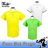 ダンスウィズドラゴン / DANCE WITH DRAGON カノコ腕章ポロ ゴルフウェア メンズ 春夏モデル!ダンス ウィズ ドラゴン/14