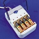 その電池!捨てないで!まだ使えます!【節電グッズ】【エコグッズ】アルカリ乾電池充電器2充電してリユース!02P06Aug16