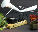 楽天スターライトエクスプレス木目調延長コード2m4個口OAタップ(ブレーカー内臓)wood type お部屋に馴染む、柔らかい木目調のタップ 電源コード タップ おしゃれ インテリア02P05Nov16