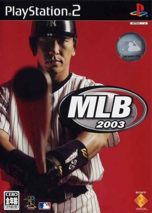 【中古】PS2 MLB2003