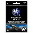 新品PS4/PS3/PSV/PSPパーツ PLAYSTATION Network Card $50
