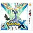 新品3DS Pokemon X / ポケットモンスターX 【海外北米版】