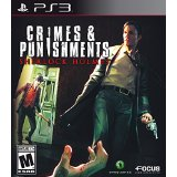 現地9/30発売新品PS3CrimesandPunishments:SherlockHolmes/クライムアンドパンイズメントシャーロック・ホームズ【海外北米版】
