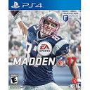 新品PS4 Madden NFL 17 / マッデンNFL17 【海外北米版】