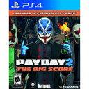 現地10/11発売 新品PS4 Payday 2:The Big Score / ペイデイ2 ビッグスコア 【海外北米版】