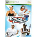 【中古】XBOX360 Virtua Tennis 3 【海外アジア版】
