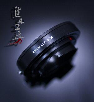 安裝配接器 KIPON EOS RM 佳能 EOS/EF-裝載鏡頭-理光 GXR A12 和徠卡 M 裝入觀景窗