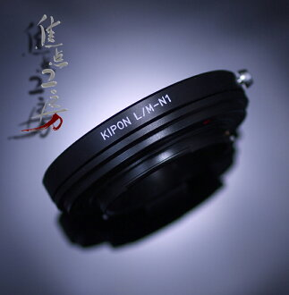 KIPON-made Leica M マウントレンズーニコン 1 k-mount adapter