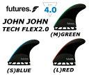 FUTURES FIN JOHN JOHN TECH FLEX2.0 3FIN トライセット 3フィン 3本セット フューチャーフィン テックフレックス ジョンジョン・フロ..