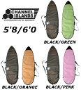 5'8/6'0 CHANNEL ISLANDS DANE REYNOLDS DAY RUNNER BOARDBAG チャンネルアイランド ショートボード デイバッグ ハードケース AL MERRI..