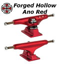 INDEPENDENT FORGED HOLLOW ANO RED TRUCKS STAGE11 2個セット インディペンデント トラック ステージ11 129...