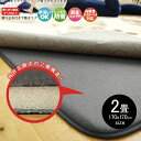 ラグ 下敷きラグ 厚手 防音 2畳 約170×170cm シンプル ラグマット カーペット ラグカーペット おしゃれ 床暖房対応 春 夏 秋 冬 オールシーズン ウレタン リビング マット ダイニング ラグ 床 ホットカーペット対応 極厚 保温 グレー
