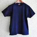 メンズ琉球藍染め半袖Tシャツ!肉厚のしっかりとした藍染めヘビーウェイトTシャツ