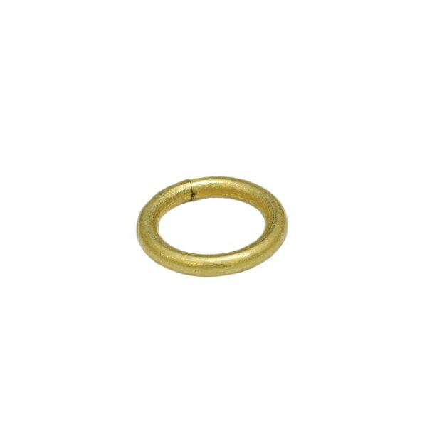 真鍮 丸カン 内径10mm キーホルダーパーツ
