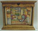 【 ハーフホルダー 】カントリー雑貨・カントリー家具・ナチュラルアメリカン・フレンチ・手作りコルク・壁掛け・かわいいカレンダー・