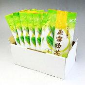 【玉露粉茶100gx8本】杉田園の人気商品「玉露粉茶」100gパック。御自宅用に・贈答品用にどうぞ。