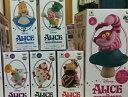 【Disney】ディズニーキャラクターズ ワールドコレクタブルフィギュア story.01 「ふしぎの国のアリス」&MEGAワールドコレクタブルフィギュア チェシャ猫(ノーマル)【6種セット】