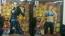 【ワンピース】 -THE GRANDLINE LADY- ONE PIECE FILM GOLD vol.2 全2種セット(ナミ&ロビン)(グランドラインレディ)【ONE PICE】組立式DXフィギュア