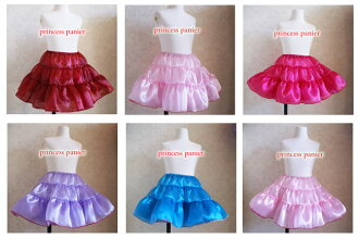 Glitter Princess Pannier new 6 color Princess petticoat all 15 color children's Gothic Lolita-Chan dance costumes