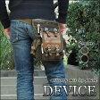 レッグポーチ/DEVICE(デバイス) Work レッグポーチ(レッグバッグ・ウエストバッグ) ブラック 黒