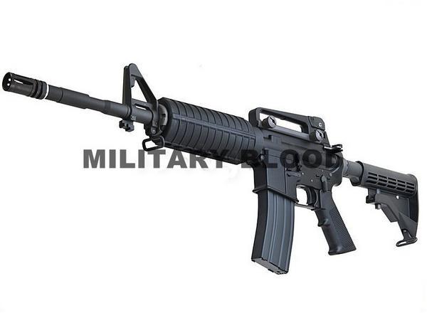 WE製 M4A1 オープンチャンバー ガスブローバック BK