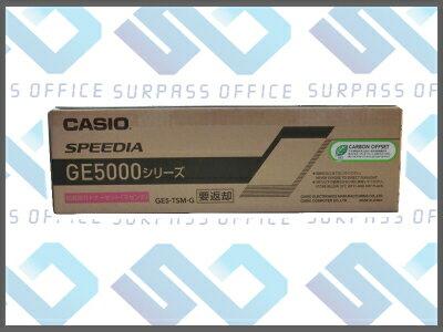 カシオ純正品GE5-TSM-G マゼンタトナーGE5000/GE5000-SC/GE5000-YPO
