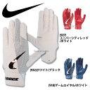 NIKE ナイキ 手袋 フォース エッジ バッティング用 両手用 BA1013 バッティング手袋