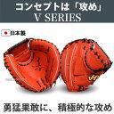 【あす楽対応】 ハタケヤマ 硬式キャッチャーミット V-M01WR ★HSA グローブ 硬式 キャッチャーミット 野球用品 スワロースポーツ ■TRZ