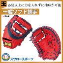 玉澤 タマザワ ソフトボール キャッチャーミット TSF-R155WD ■tms ソフトボール グローブ キャッチャーミット 野球用品 スワロースポーツ